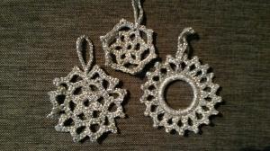 hekla juletrepynt sølv