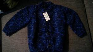 tykk og varm jakke i ull