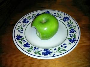 grønt eple